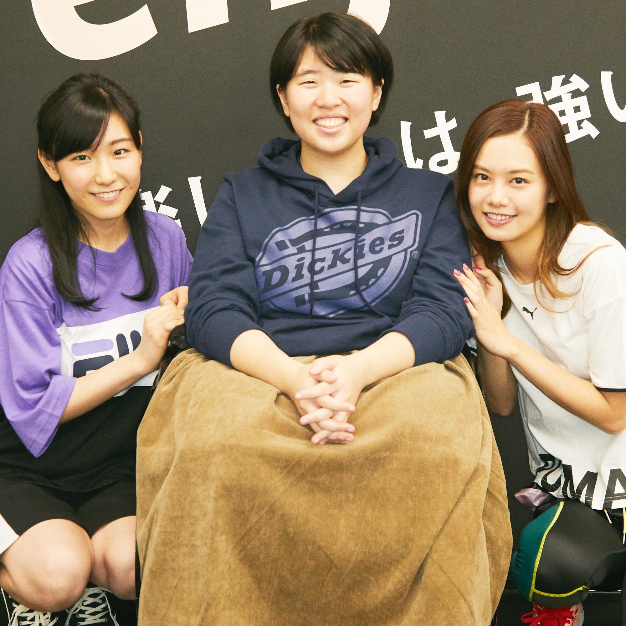 パラ・パワーリフティング森﨑可林さんを泉はるが応援!