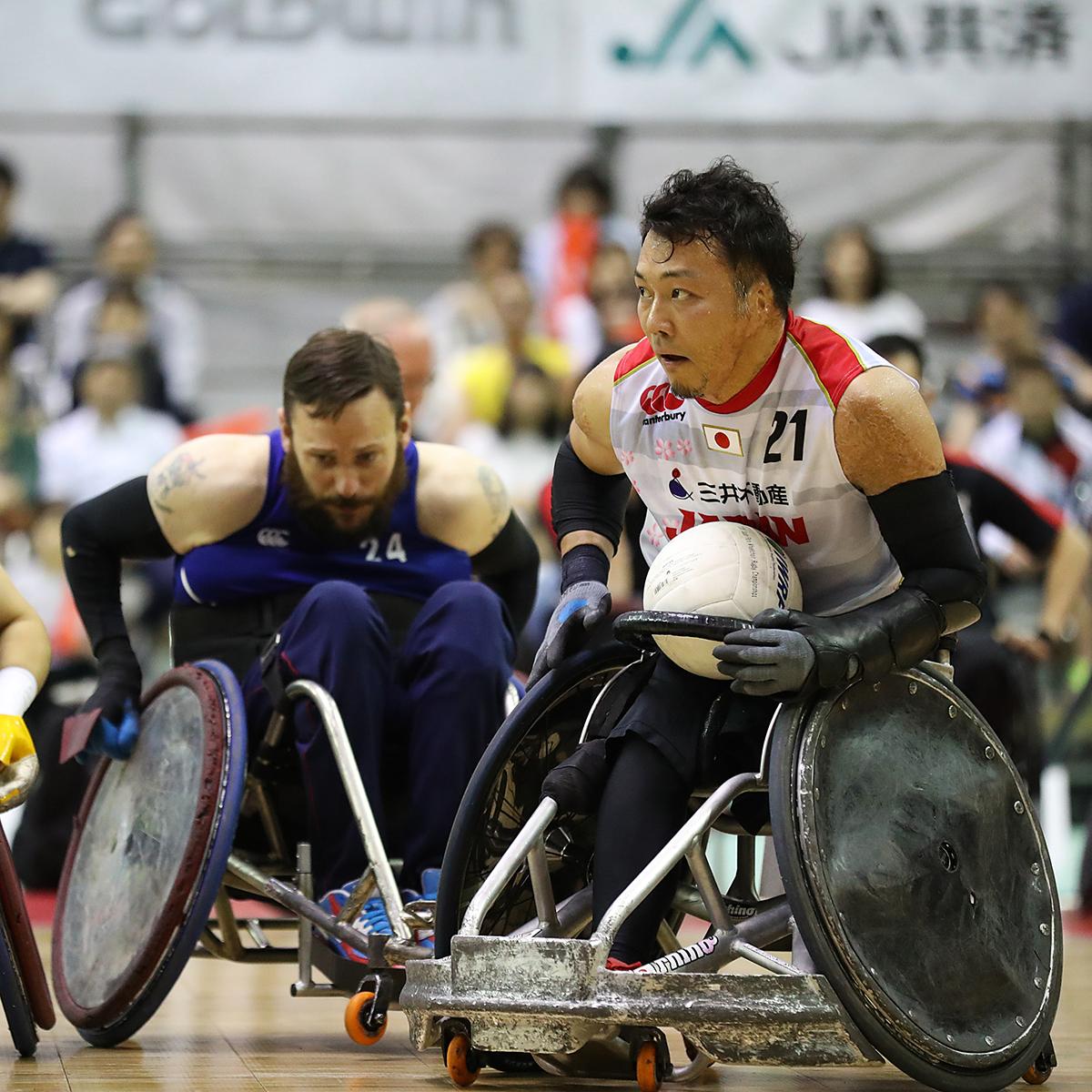 「もうひとつのラグビー」国際大会が東京体育館で開幕!