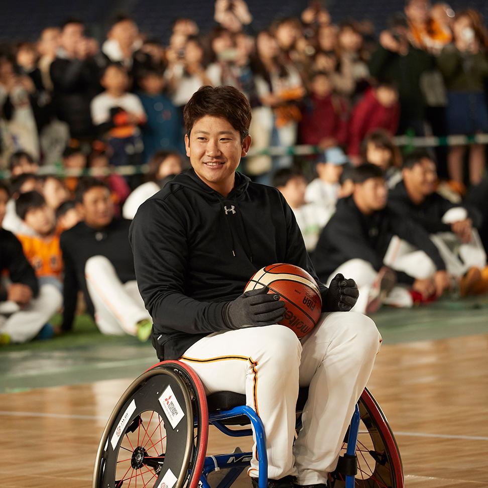 坂本、菅野、吉川尚選手らが参加パラスポ体験イベントをレポート