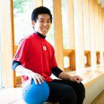 ゴールボールの若きエース金子和也。様々な思いを込め一球入魂を誓う