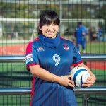 未来のパラリンピックを目指す日本のエースストライカー、ブラインドサッカー菊島宙選手